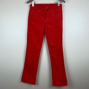 J. Crew Bootcut Corduroy Pants 26 Short R3327